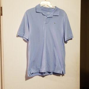 Vineyard Vines Lt Blue Polo Shirt Sz XL